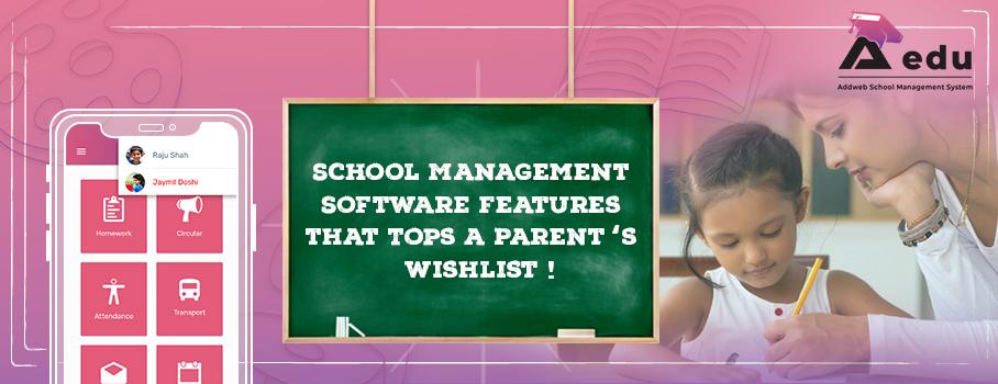 School Management System Features
