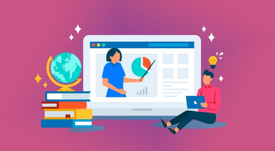 Video based online learning