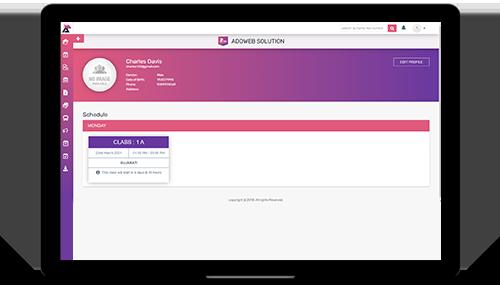 AEDU Online Software for Teacher
