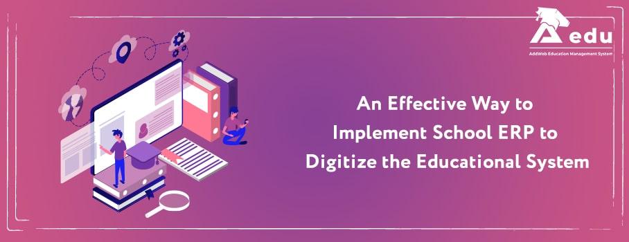 School ERP for Educational Organization