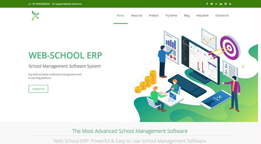 WebSchool ERP